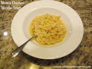 Mom's Chicken Noodle Soup With A Twist