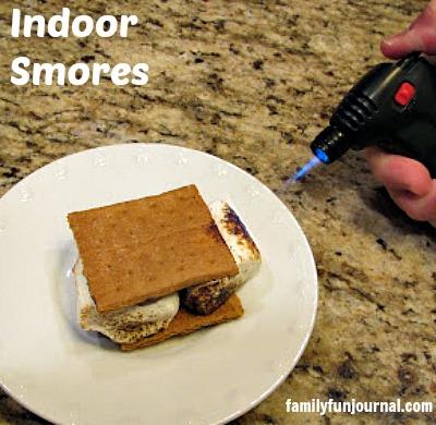 indoor smores