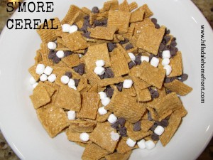 s'more cereal