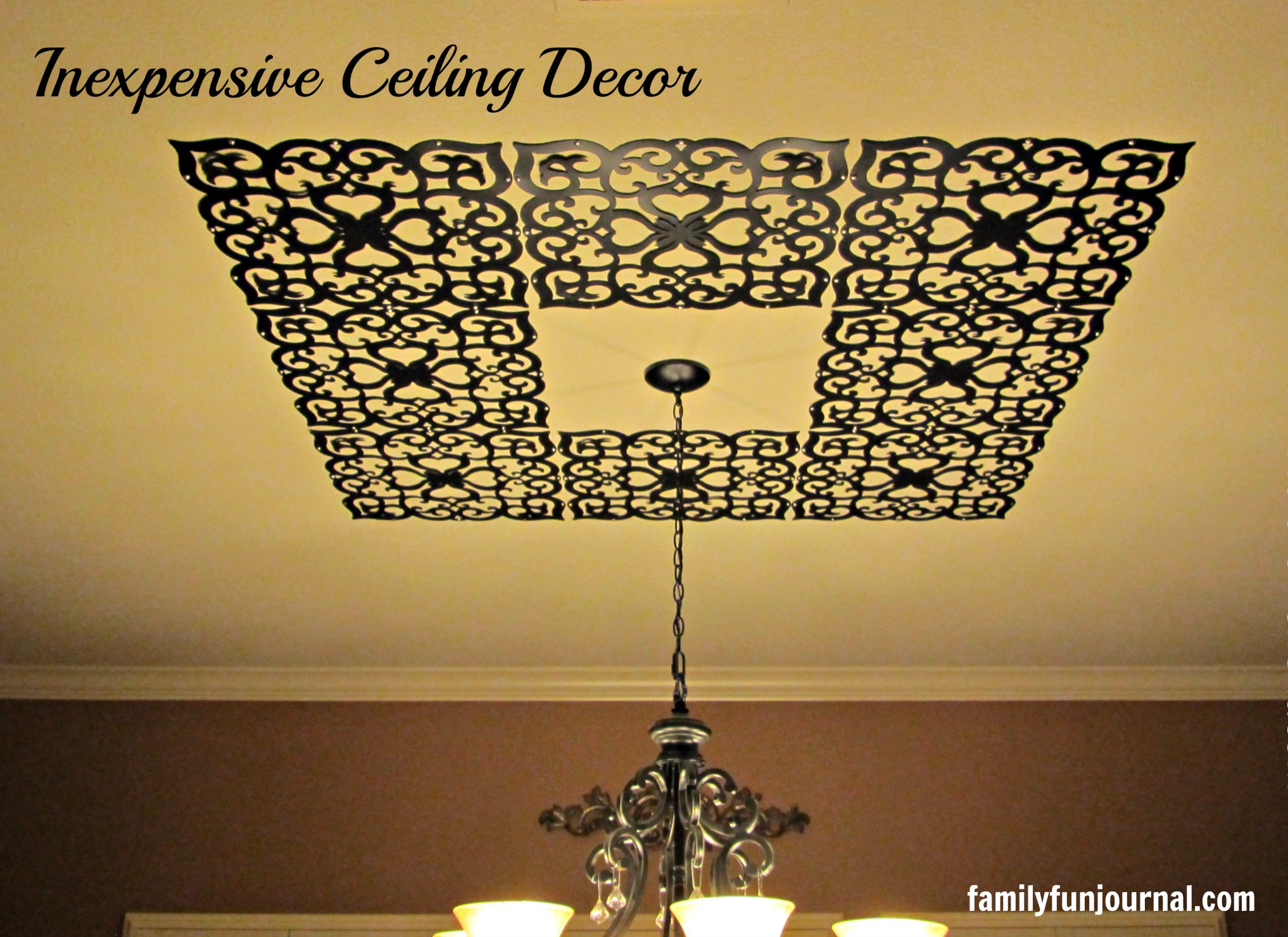 Container Store Ceiling Decor - Family Fun Journal