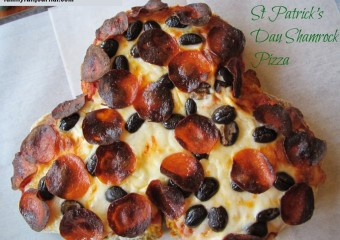The Saint Patrick's Day Pizza