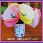 cupcake paper craft to do for kids