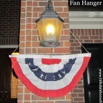 patriotic fan hanger