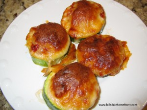 Healthy Zucchini Pizza Recipe