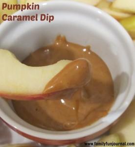 Pumpkin Caramel Dip