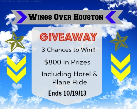 Wings Over Houston Giveaway