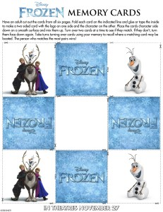 frozen memory cards