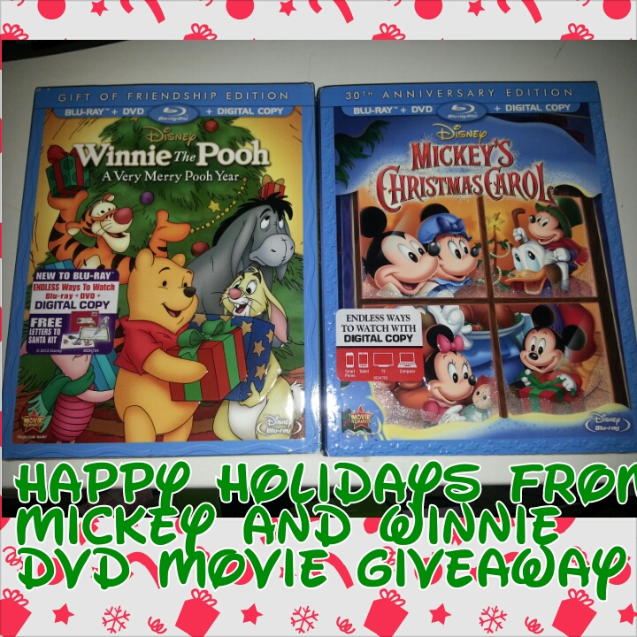 holiday mickey giveaway