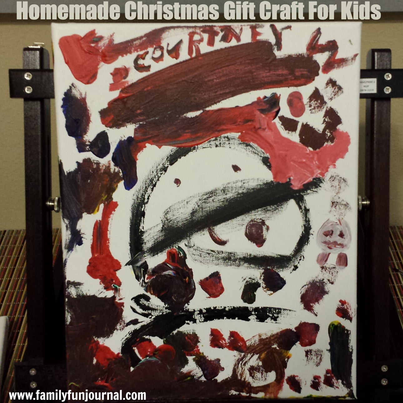 homemade christmas gift craft for kids