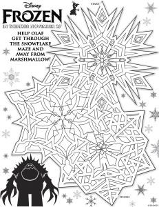 snowflake maze 3