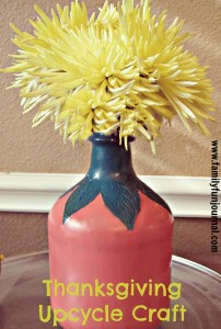 Thanksgiving Upcycle Craft