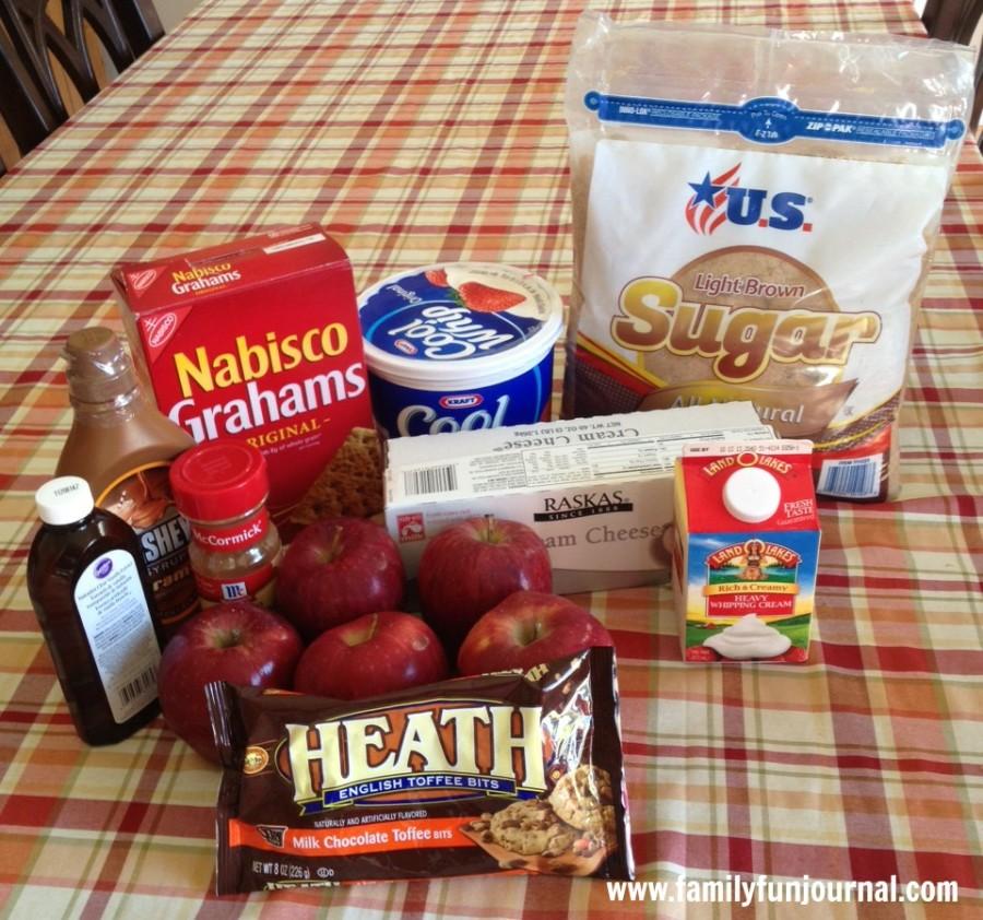 apple pie lasagna ingredients