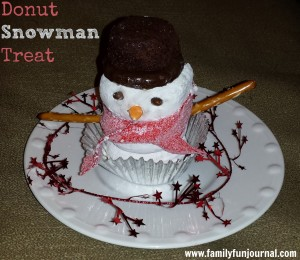 Christmas Snowman Treat