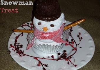 Christmas Snowman Treat