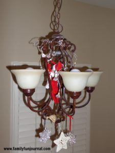 Elf on the Shelf With Christmas Lights