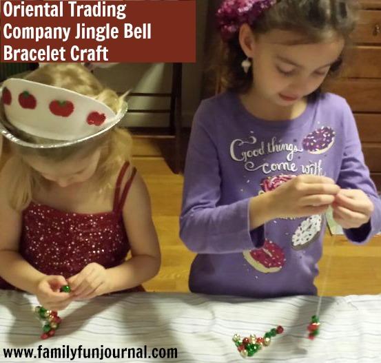 oriental trading jingle bell bracelet craft