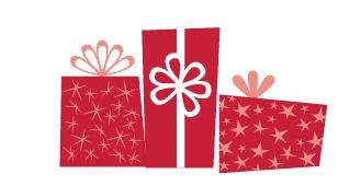 last minute gift idea clip art