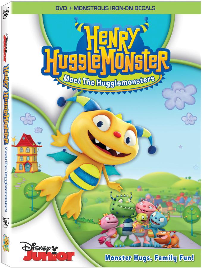 Disney Henry Hugglemonster DVD