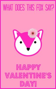what does the fox say pink valentine