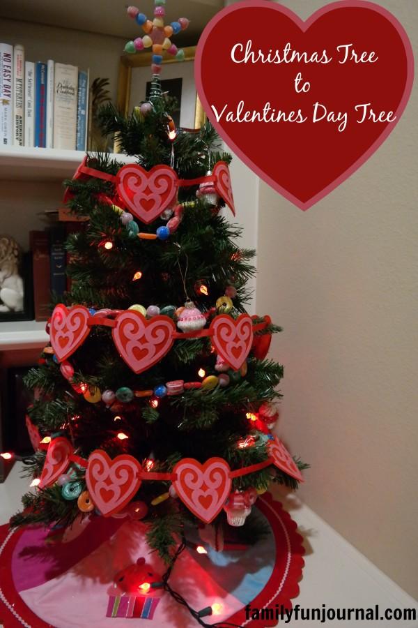 valentines day christmas tree