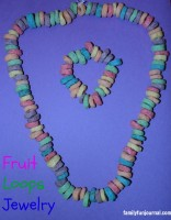 cereal jewelry