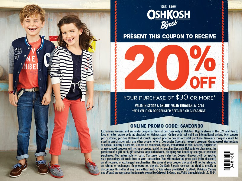 oshkosh bgosh coupon