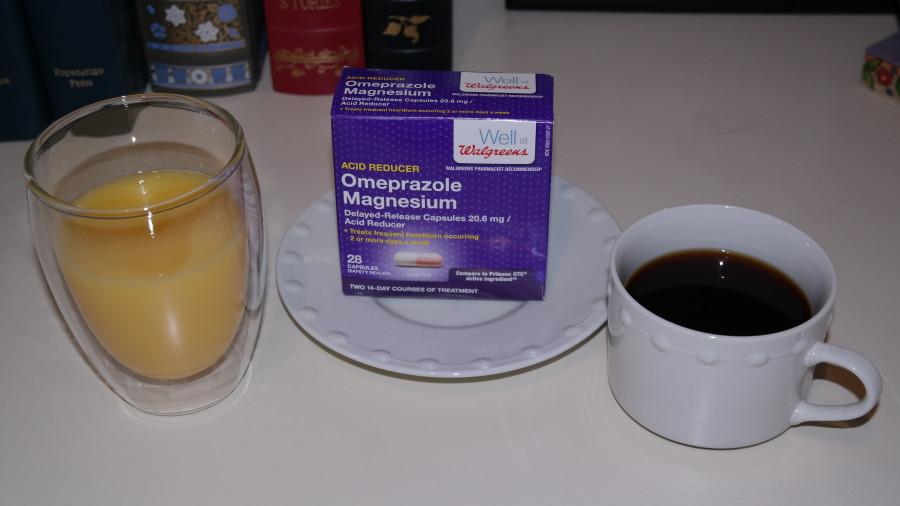 orange juice and coffee #shop