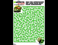 muppets most wanted green maze