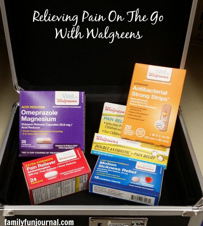 relieving pain on the go with walgreens #shop