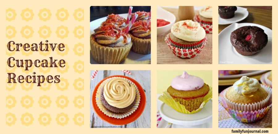 recipes for creative cupcakes