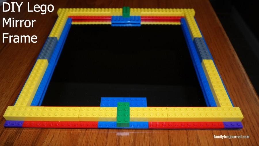 diy lego mirror frame