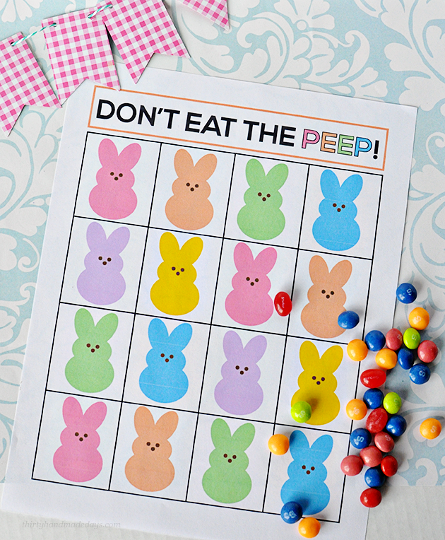 peep printable game