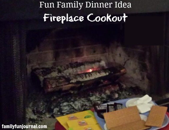 fireplace cookout