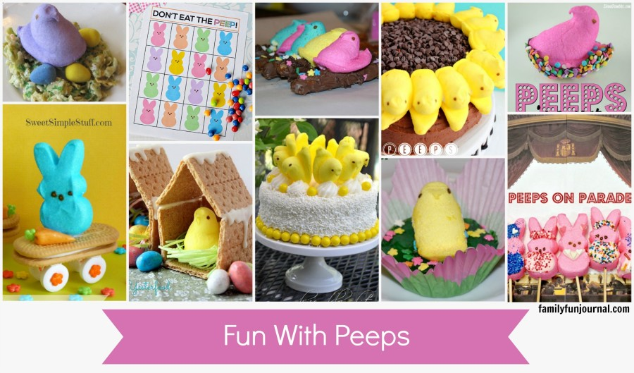 fun with peeps