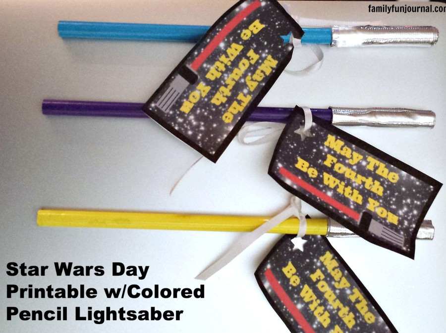 star wars day craft project
