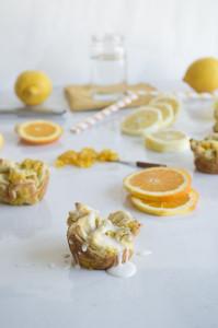 lemon pull apart sweet rolls