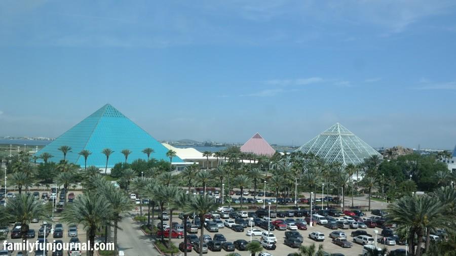 moody gardens pyramids