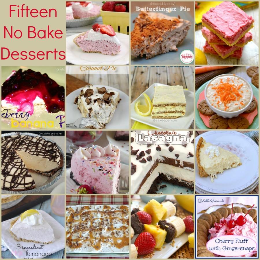 15 no bake dessert recipes