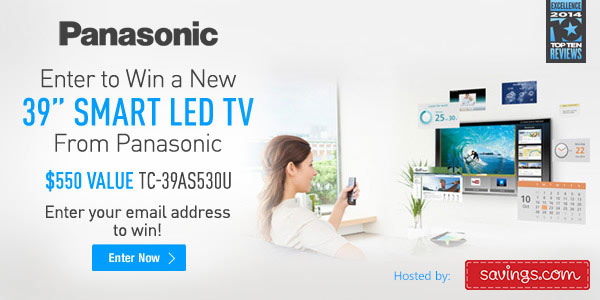 panasonic led tv giveaway