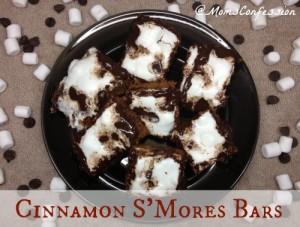 cinnamon smores bars