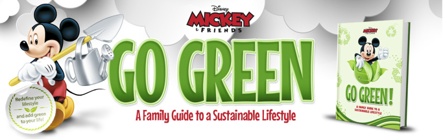 disney mickey and friends go green!
