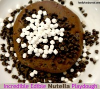 nutella playdough