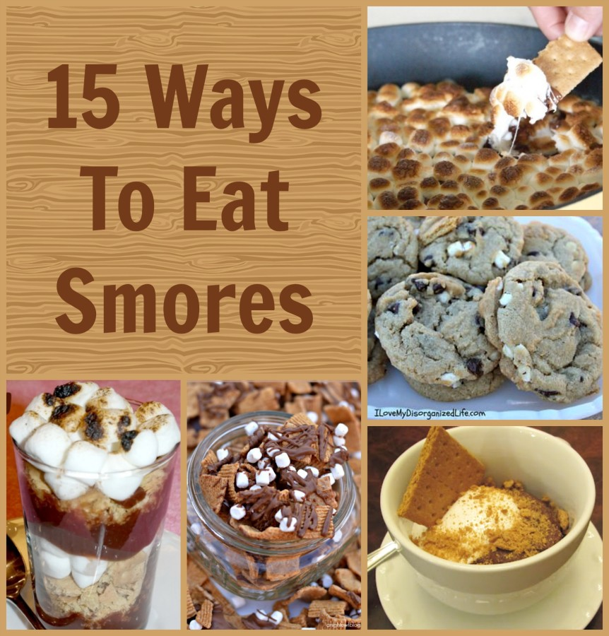 ways to eat smores
