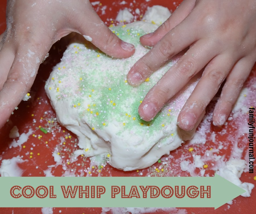 cool whip play dough recipe