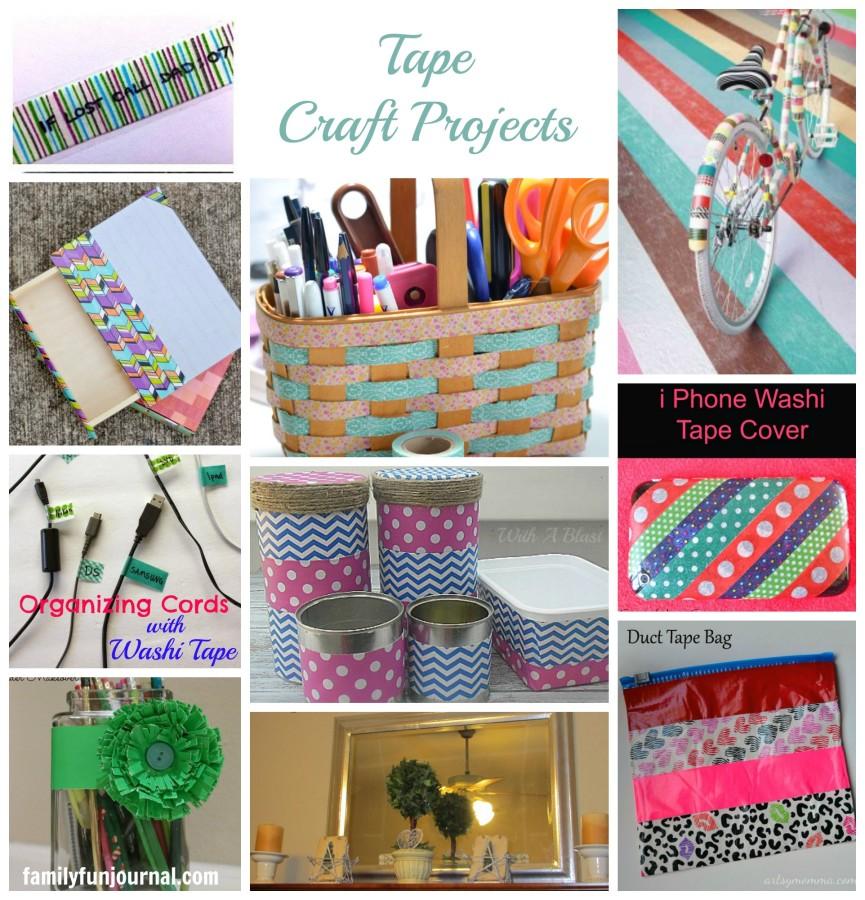 tape crafts