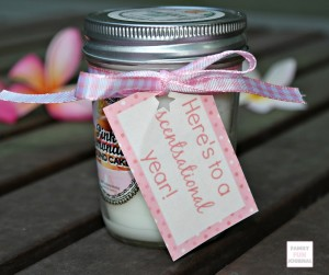 Candle Teacher Gift