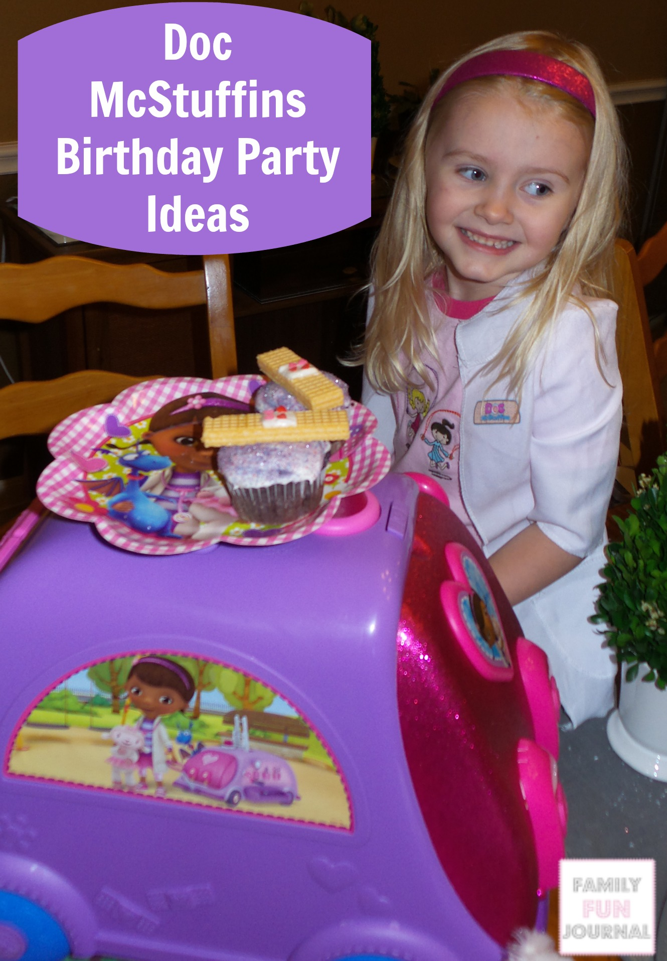 doc mcstuffins birthday party ideas
