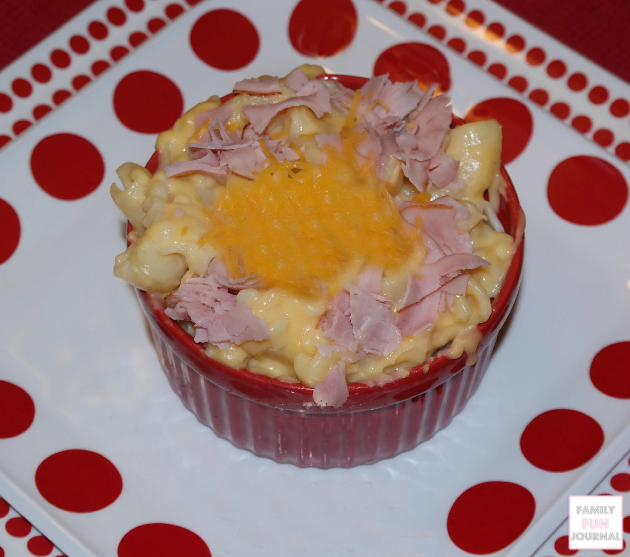 macaroni and ham and cheese