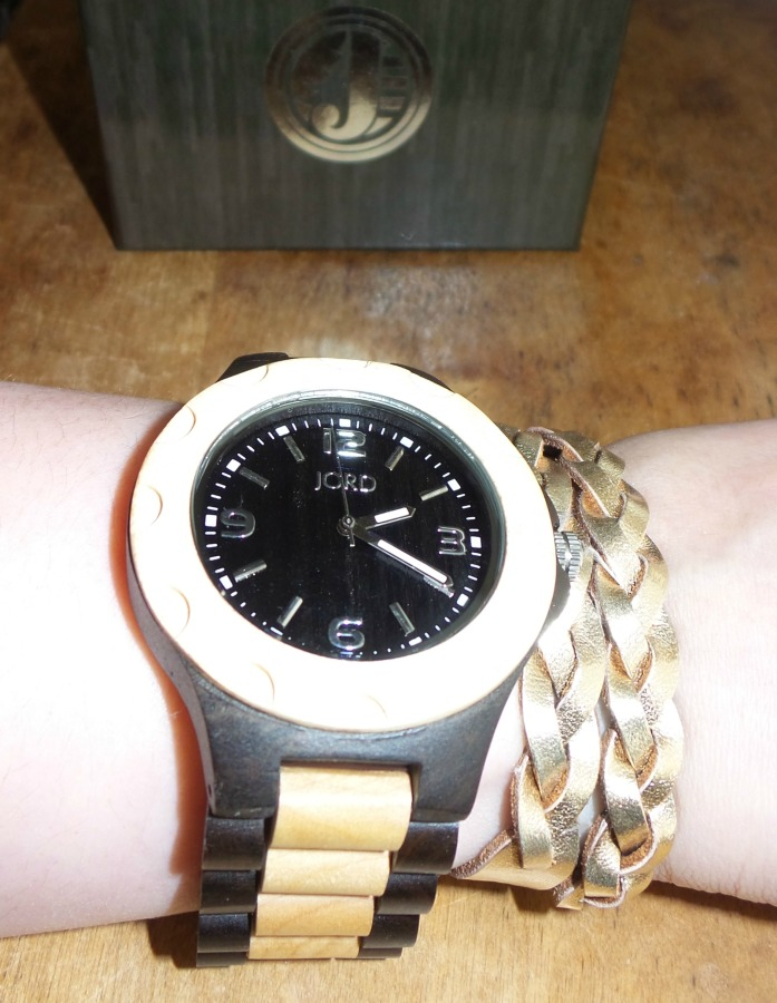 jord wood watch leather