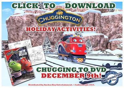 chuggington holiday activities